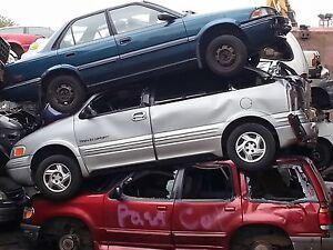 I buy scrap cars