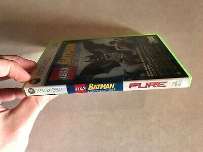 LEGO Batman: The Videogame / Pure (Microsoft Xbox 360, 2009) Cleaned, used for sale  Shipping to Nigeria