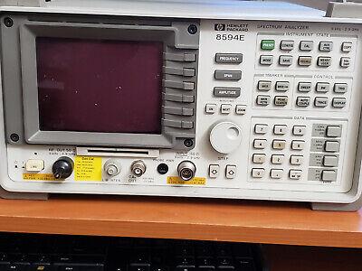 Hp Agilent 8594e 2.9 Ghz Spectrum Analyzer W Tracking Generator 010 041 119 140