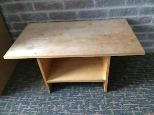 Coffee table and chair $ 10 each