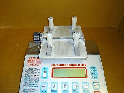 Used Kaps-all Eb-650a Digital Torque Tester W Check Weights