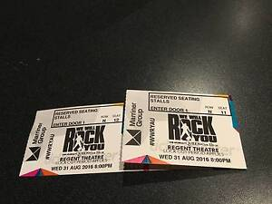 We Will Rock You - A Reserve Tickets x 2 WED 31/08/16 Hoppers Crossing Wyndham Area Preview