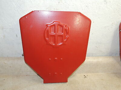 Mccormick Deering Ihc Grain Drill End Plate Farmall Red Paint Use Or Display
