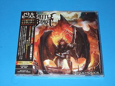 2015 JAPAN BATTLE BEAST UNHOLY SAVIOR CD WITH BONUS TRACK