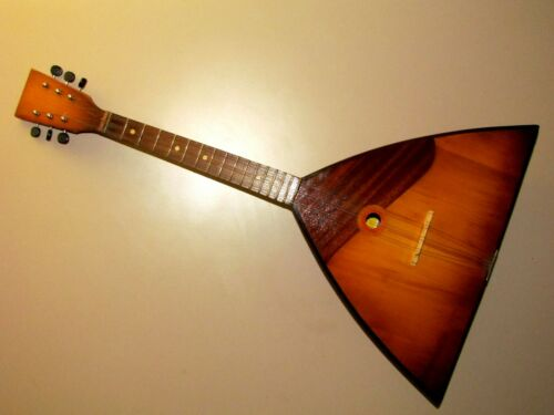 Super Vintage Chernihiv Balalaika 6 string named after Pavel Postyshev 7N