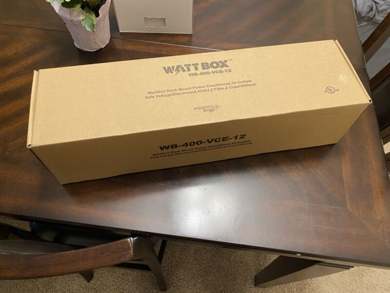 WattBox IP Power Cond 12 Controlled Outlets wb-400-vce-12