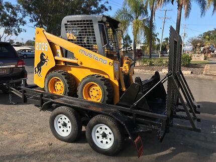 Tinys Bobcat Excavator And Truck Hire Cars Trailers Excavators