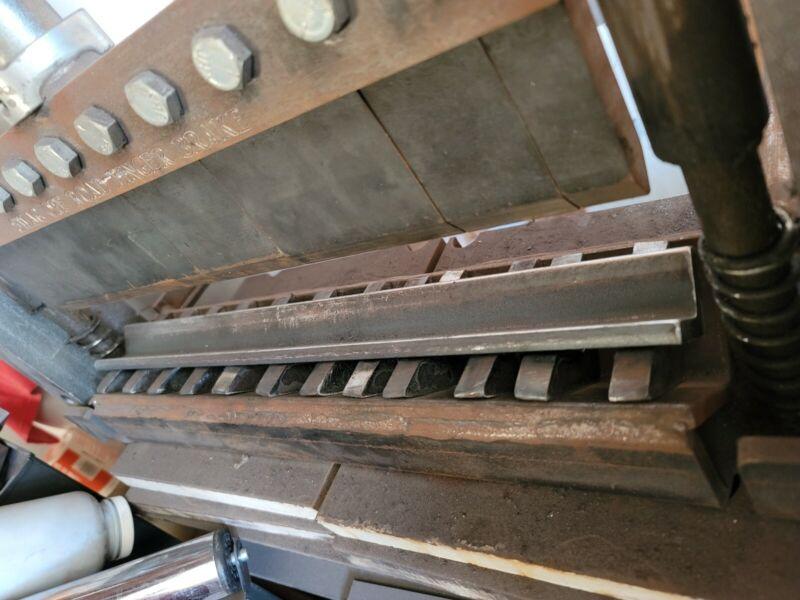 20 ton HF press brake DIY die