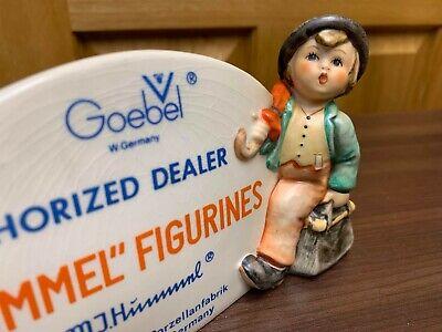 GOEBEL HUMMEL Figurines 1947 RARE Wanderer Boy Store Advertising Plaque Sign