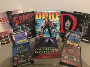 Collector's Computer Game Bundle!! Very Valuable!