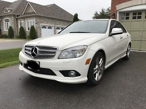 2008 Mercedes C300  6 speed standard