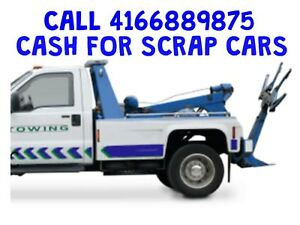 GET CASH FOR SCRAP CARS AND USED CARS CALL4166889875
