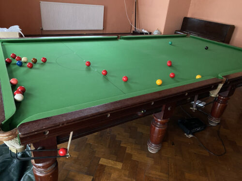 Competition Full Size Snooker Table - Vintage / antique
