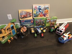 KIDS PUZZLES and TOYS