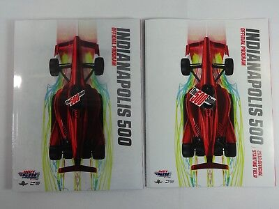 2018 Indianapolis 500 102nd Running Official Program With Starting Line-Up Inser