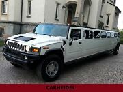 Hummer H2 STRETCH LIMO V8 6.0 LEDER*SOUND*BAR*LUXUS*!!