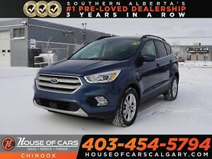 2018 Ford Escape SEL w/ Bluetooth, Heated Seats, Backup Camera