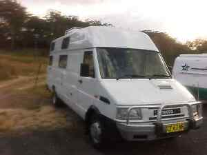 Iveco turbo daily motorhome 1997 Urunga Bellingen Area Preview