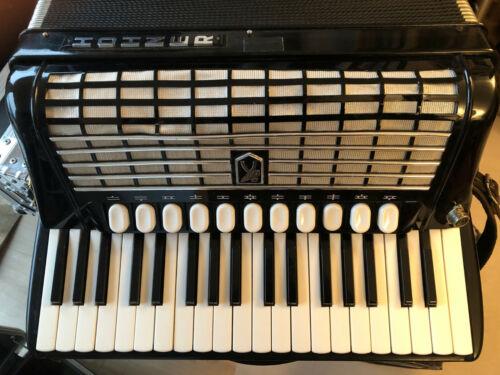 HOHNER Tango IV T Akkordeon mit LIMEX Midi und eingebauten Mikrofonsystem