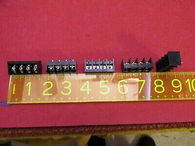 Terminal Strip Barrier Block Screw 15 Amp 300 Volt 4 Pole Position Quantity 10