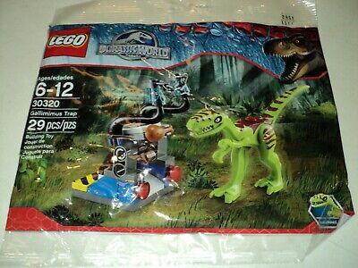 LEGO Jurassic World / Park Gallimimus Trap 30320 Dinosaur New Sealed In Polybag
