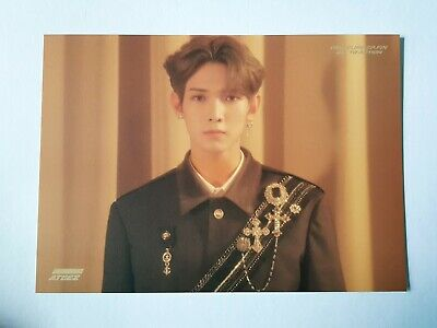 "ATEEZ YEOSANG Official Postcard - Official ""TREASURE EP.FIN : All To Action"""