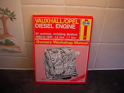 vauxhall opel diesel engine 1982 91 16 17 all versions