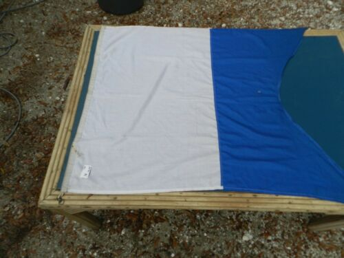 "Vintage Big Ship Cloth Flag  Letter   ""A""    3 ft X 4 ft"
