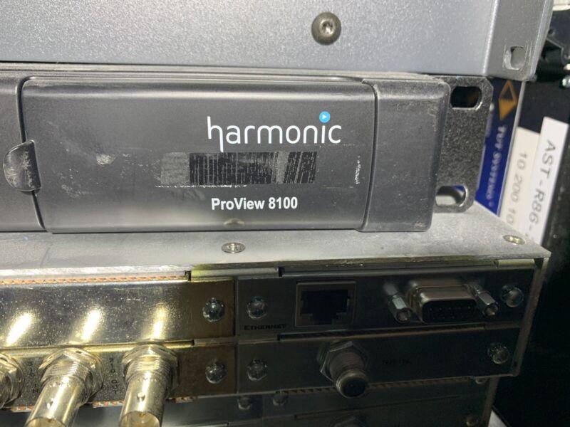 HARMONIC Divicom Electra  ProView 8100 SD HD