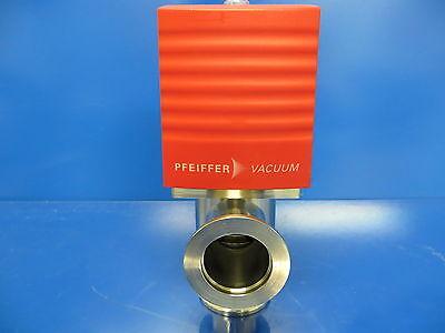 Pfeiffer Vacuum Avc 025 Px Electropneumatic Angle Valve 24v Dn25 Iso-kf Avc025