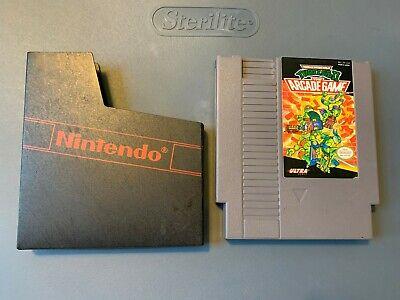 TMNT Teenage Mutant Ninja Turtles II 2: The Arcade Game (NES) AUTHENTIC, TESTED