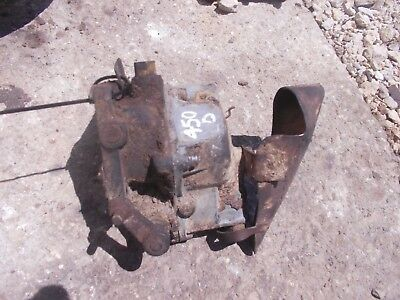 Farmall 450 400 Diesel Tractor Ih Engine Motor Carburetor W Funnel Trough