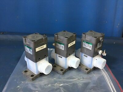 Ckd Amd412-ft-shpl Valves Lot Of 3