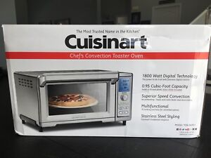 New Unopened Cruisinart Convection Toaster Oven