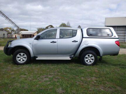 Mitsubishi Triton GLR MN 4x4 Turbo diesel Double Cab Ute As New! Pyramid Hill Loddon Area Preview