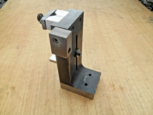 MACHINISTS RIGHT ANGLE GRIND PLATE , STAND , FIXTURE WITH V-BLOCK