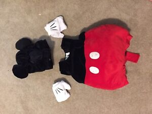 Mickey Mouse Costume Size 2T