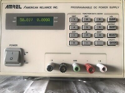 AMERICAN RELIANCE AMREL SINGLE OUTPUT LPS301 LINEAR POWER SUPPLY 30W 32V 2.4A