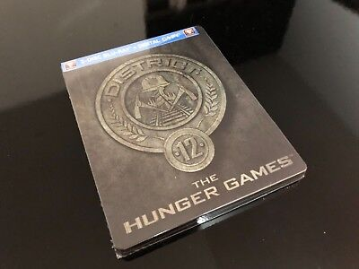 Hunger Games Future Shop District 12 Exclusive Sealed Steelbook - NEW!