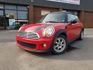 2013 MINI Cooper 2 DOORS CPE PANORAMA ROOFS LEATHER 45K ONLY!!!