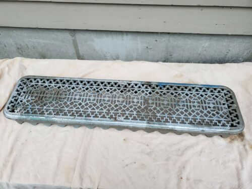"Antique Cast iron Radiator topper Cover  37 x 9 x 3 1/2"""