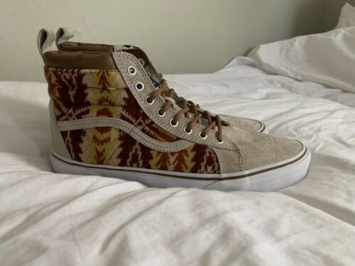 Rare Vans X Pendleton Sk8 Hi MTE Insulated Scotchgard 3M Men's Size 11