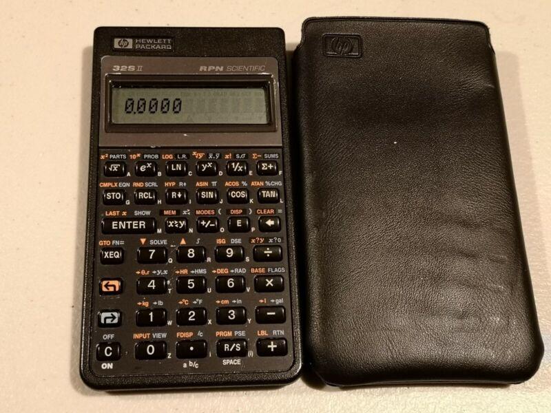 HP Hewlett Packard 32SII RPN Scientific Calculator 32S II