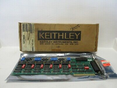 Keithley Instruments Pc 6182 New Dda-06 Analog Output Card 61800 Pc6182