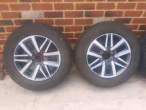 2016 Toyota Hilux 18 inch Rims and tyres x5 Busselton Busselton Area Preview