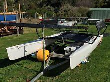 Hobie 17 catamaran. Flinders Mornington Peninsula Preview