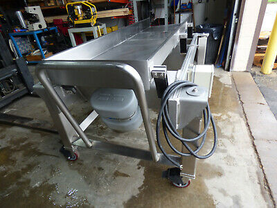 Key Iso-drive Vibratory Conveyor With Screener 24 X 85 Stainless Steel Portabl