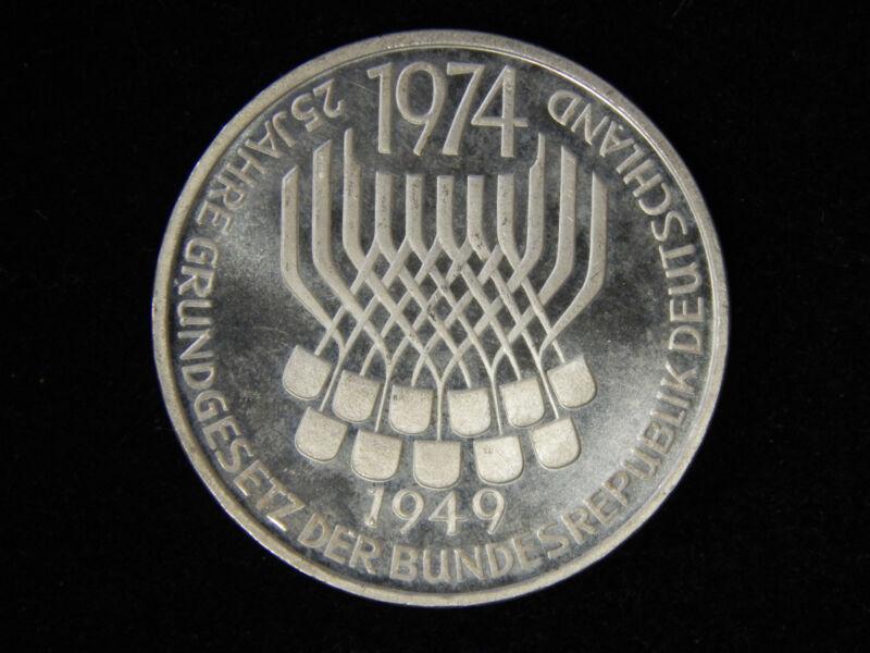 1974-F Germany 5 Mark - Proof