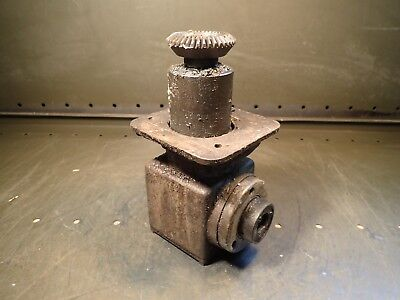 Bridgeport Series Ii 2 Power Feed Gearbox With Bevel Gear Used In Good Condition