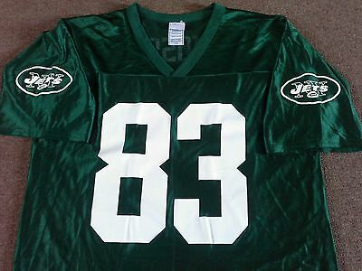New York Jets NFL Jersey - Moss #83 - Adult Large - Fab Condition